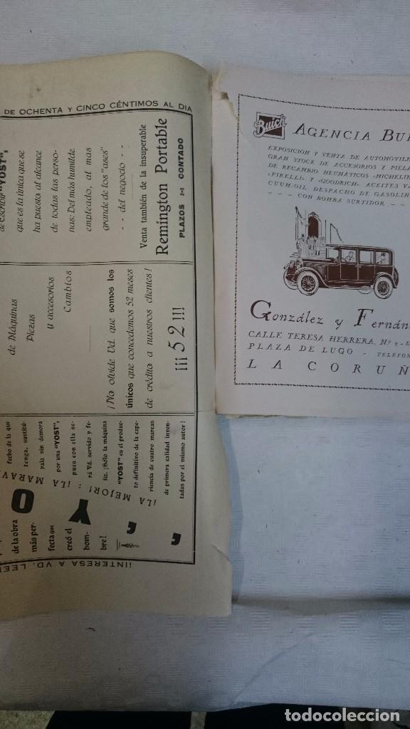 Libros antiguos: La Coruña: Ciudad de verano 1926 y 1928 (2 libros) - Foto 9 - 99520823