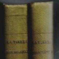 Libros antiguos: LA TIERRA Y SUS POBLADORES, WILLI ULE. DOS TOMOS. 1929.. Lote 99805279