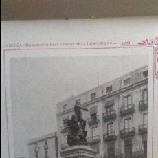 Libros antiguos: GERONA. MAGNIFICAS FOTOGRAFIAS ANTIGUAS. MAPA PROVINCIAL. CUADERNO PORTFOLIO FOTOGRAFICO. Lote 99807219
