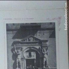 Libros antiguos: ZARAGOZA. MAGNIFICAS FOTOGRAFIAS ANTIGUAS. MAPA PROVINCIAL. CUADERNO PORTFOLIO FOTOGRAFICO. Lote 99878331