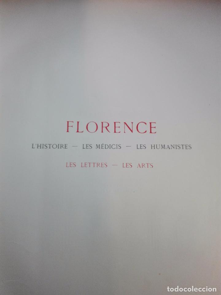 Libros antiguos: FLORENCE - PAR CHARLES YRIARTE - J. ROTHSCHILD, EDITEUR - PARIS - 1881 - 500 GRABADOS - MUY BELLO - - Foto 13 - 265414919