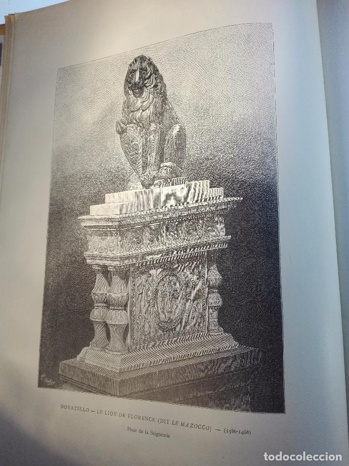 Libros antiguos: FLORENCE - PAR CHARLES YRIARTE - J. ROTHSCHILD, EDITEUR - PARIS - 1881 - 500 GRABADOS - MUY BELLO - - Foto 15 - 265414919