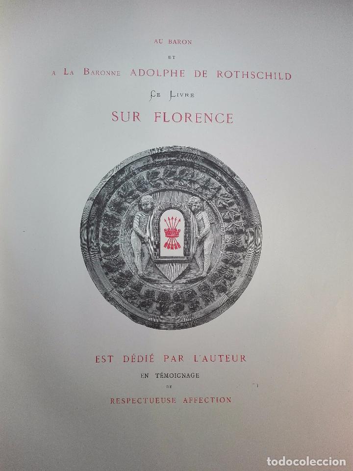 Libros antiguos: FLORENCE - PAR CHARLES YRIARTE - J. ROTHSCHILD, EDITEUR - PARIS - 1881 - 500 GRABADOS - MUY BELLO - - Foto 17 - 265414919