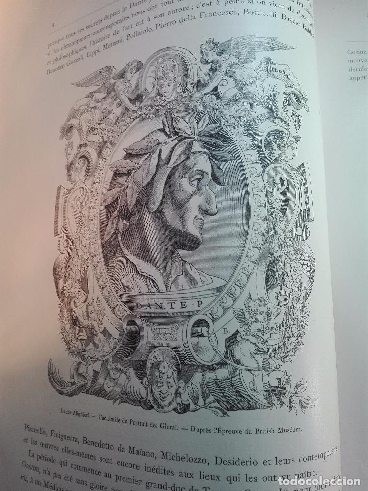 Libros antiguos: FLORENCE - PAR CHARLES YRIARTE - J. ROTHSCHILD, EDITEUR - PARIS - 1881 - 500 GRABADOS - MUY BELLO - - Foto 2 - 265414919