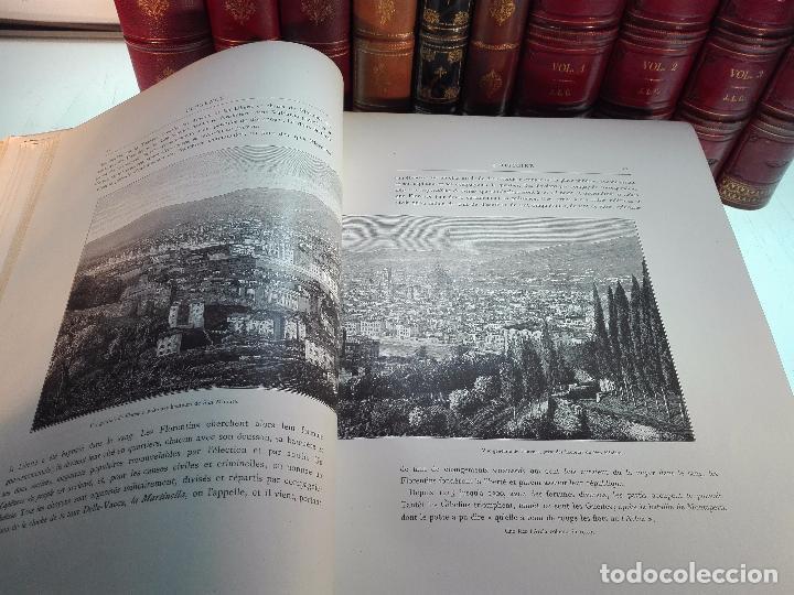 Libros antiguos: FLORENCE - PAR CHARLES YRIARTE - J. ROTHSCHILD, EDITEUR - PARIS - 1881 - 500 GRABADOS - MUY BELLO - - Foto 3 - 265414919