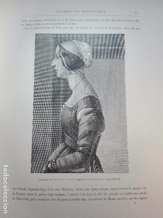 Libros antiguos: FLORENCE - PAR CHARLES YRIARTE - J. ROTHSCHILD, EDITEUR - PARIS - 1881 - 500 GRABADOS - MUY BELLO - - Foto 4 - 265414919