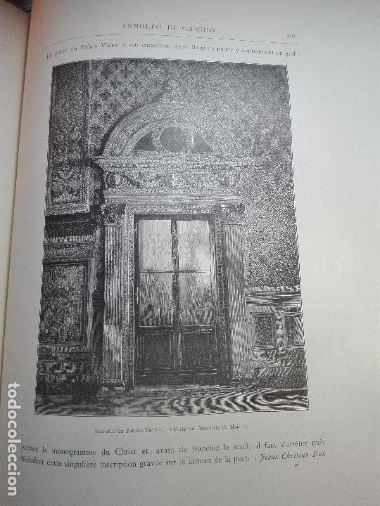 Libros antiguos: FLORENCE - PAR CHARLES YRIARTE - J. ROTHSCHILD, EDITEUR - PARIS - 1881 - 500 GRABADOS - MUY BELLO - - Foto 6 - 265414919