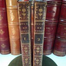 Libros antiguos: NOUVEAU VOYAGE EN ESPAGNE FAIT EN 1777 & 1778 - 2 TOMOS - 1782 - PARIS - CHEZ P. THEOPHILE BARROIS -. Lote 100264495