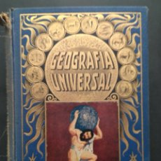 Libros antiguos: GEOGRAFIA UNIVERSAL 1934-POR AGUSTIN BLAZQUEZ FRAILES- ED. RAMON SOPENA. Lote 100415143