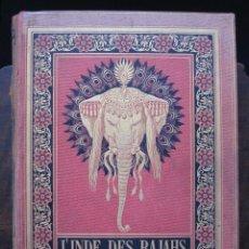 Libros antiguos: L'INDE DES RAJAHS. VOYAGE DANS L'INDE CENTRALE ET DANS LES PRÉSIDENCES DE BOMBAY ET DU BENGALE - ROU. Lote 100926048