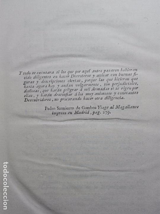 Libros antiguos: RELACIÓN DEL ÚLTIMO VIAGE AL ESTRECHO DE MAGALLANES DE LA FRAGATA DE S.M. S. Mª DE LA CABEZA - 1788 - Foto 7 - 101318855