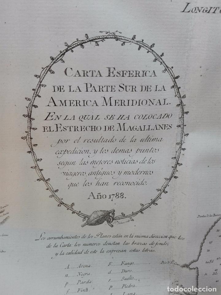 Libros antiguos: RELACIÓN DEL ÚLTIMO VIAGE AL ESTRECHO DE MAGALLANES DE LA FRAGATA DE S.M. S. Mª DE LA CABEZA - 1788 - Foto 13 - 101318855