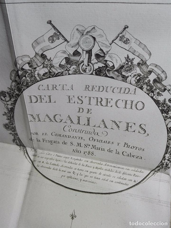 Libros antiguos: RELACIÓN DEL ÚLTIMO VIAGE AL ESTRECHO DE MAGALLANES DE LA FRAGATA DE S.M. S. Mª DE LA CABEZA - 1788 - Foto 19 - 101318855
