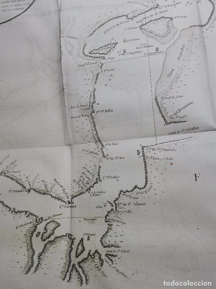Libros antiguos: RELACIÓN DEL ÚLTIMO VIAGE AL ESTRECHO DE MAGALLANES DE LA FRAGATA DE S.M. S. Mª DE LA CABEZA - 1788 - Foto 20 - 101318855