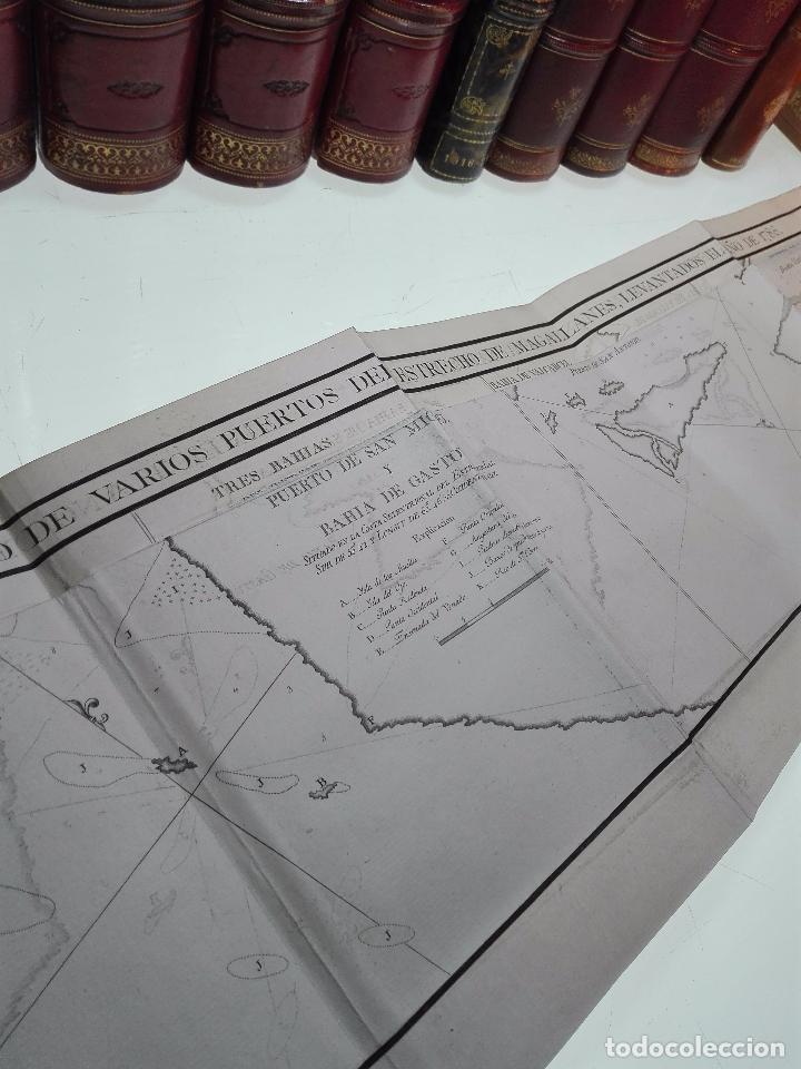 Libros antiguos: RELACIÓN DEL ÚLTIMO VIAGE AL ESTRECHO DE MAGALLANES DE LA FRAGATA DE S.M. S. Mª DE LA CABEZA - 1788 - Foto 21 - 101318855