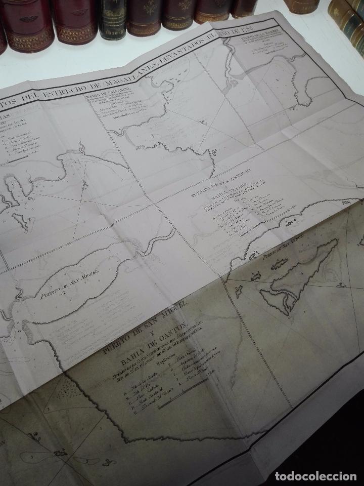 Libros antiguos: RELACIÓN DEL ÚLTIMO VIAGE AL ESTRECHO DE MAGALLANES DE LA FRAGATA DE S.M. S. Mª DE LA CABEZA - 1788 - Foto 22 - 101318855