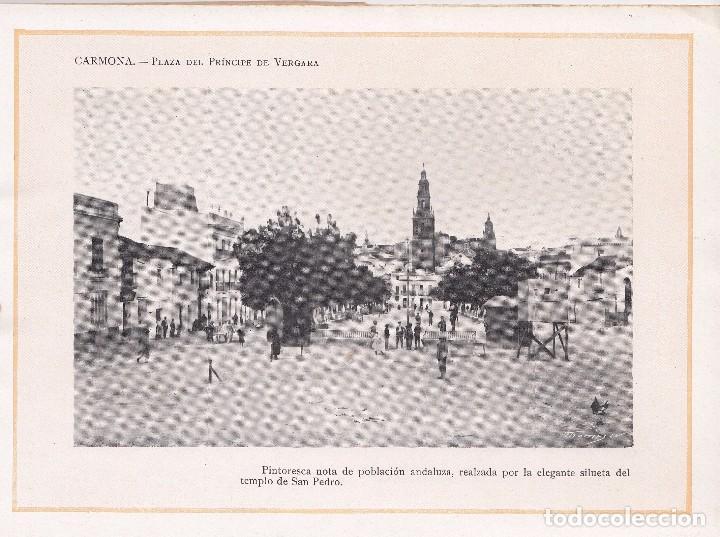 Libros antiguos: PORTFOLIO FOTOGRÁFICO DE ANDALUCÍA. CUADERNO Nº 1: CARMONA (SEVILLA), BARCELONA, SIN FECHA - Foto 2 - 101435047