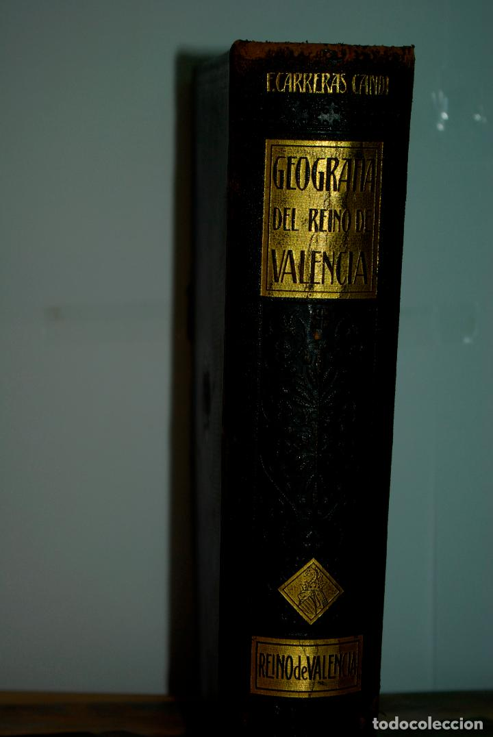 Libros antiguos: GEOGRAFIA GENERAL DEL REINO DE VALENCIA - Foto 2 - 101526191