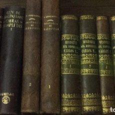 Libros antiguos: LOPEZ NOVOA: HISTORIA DE LA MUY NOBLE Y MUY LEAL CIUDAD DE BARBASTRO. AÑO 1861. DEDICADO. ARAGON.. Lote 102278259