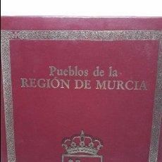 Libros antiguos: PUEBLOS DE LA REGIÓN DE MURCIA. Lote 103697735