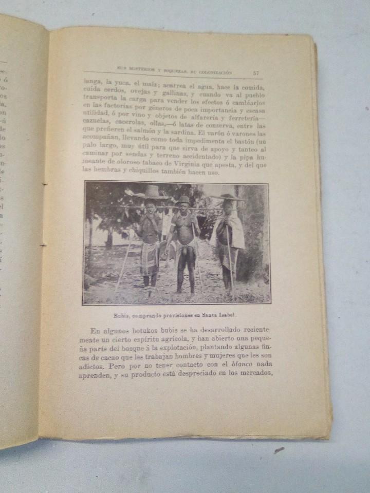 Libros antiguos: J. Bravo Carbonel: Fernando Póo y el Muni (1917) - Foto 5 - 102401407