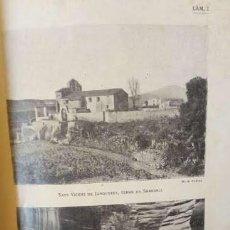 Libros antiguos: JOAN DANÉS I VERNEDAS: EXCURSIO A L´ALT VALLES OCCIDENTAL, AMB FOTOGRAFIES, 1930. Lote 104310059