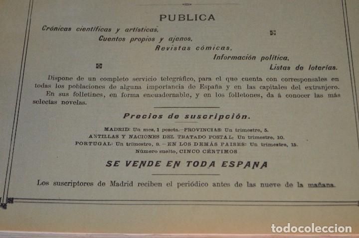 Libros antiguos: ANTIGUO LIBRO - VUELTA AL MUNDO - DE LA ESTACIÓN DEL MEDIODÍA A LA DEL NORTE VÍA SUEZ Y CHICAGO - Foto 6 - 104735339
