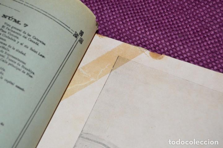 Libros antiguos: ANTIGUO LIBRO - VUELTA AL MUNDO - DE LA ESTACIÓN DEL MEDIODÍA A LA DEL NORTE VÍA SUEZ Y CHICAGO - Foto 9 - 104735339