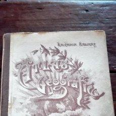 Libros antiguos: ATLAS GEOGRAFICO UNIVERSAL. SALVADOR SALINAS. MADRID. TRIGESIMA PRIMERA EDICION. 1957. 102 MAPAS W. Lote 105166687