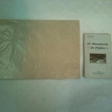 Libros antiguos: LEÓN ROCH: EL MONASTERIO DE PIEDRA (1911) - MANUEL RAMOS Y COBOS: ÁLBUM DEL MONASTERIO DE PIEDRA. Lote 97817447