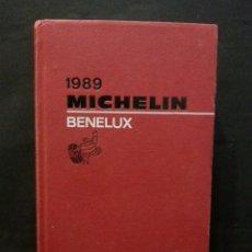 Libros antiguos: LIBRO GUÍA MICHELÍN AÑO 1989 BENELUX. Lote 105629151