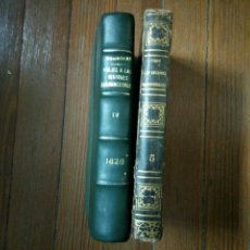 Libros antiguos: VIAGE A LAS REGIONES EQUINOCCIALES DEL NUEVO CONTINENTE. HUMBOLDT. TOMOS IV Y V. 1826. Lote 106015331