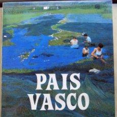 Libros antiguos: PAIS VASCO. PIO BAROJA. FOTOGRAFIA PARA ANTONIO FERNANDEZ. 1988 GRAN FORMATO W. Lote 106917551