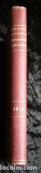 BUTLLETI DEL CENTRE EXCURSIONISTA DE CATALUNYA - 1910 - VOLUM XX , NÚMEROS 168 A 191 (Libros Antiguos, Raros y Curiosos - Geografía y Viajes)