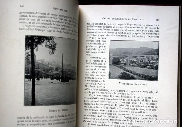 Libros antiguos: BUTLLETI DEL CENTRE EXCURSIONISTA DE CATALUNYA - 1910 - VOLUM XX , NÚMEROS 168 a 191 - Foto 3 - 107202615