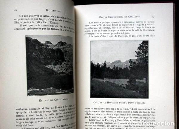 Libros antiguos: BUTLLETI DEL CENTRE EXCURSIONISTA DE CATALUNYA - 1910 - VOLUM XX , NÚMEROS 168 a 191 - Foto 4 - 107202615
