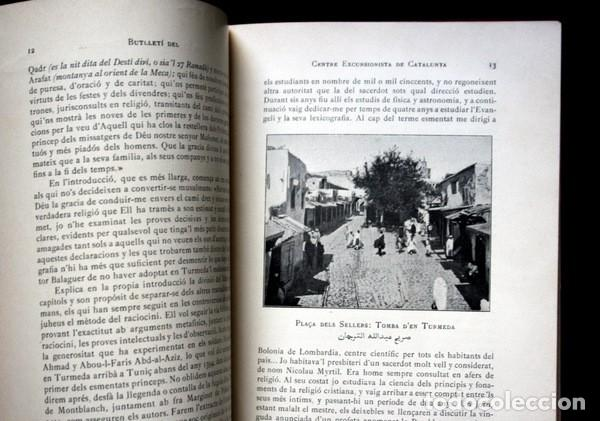 Libros antiguos: BUTLLETI DEL CENTRE EXCURSIONISTA DE CATALUNYA - 1910 - VOLUM XX , NÚMEROS 168 a 191 - Foto 5 - 107202615
