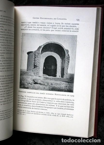 Libros antiguos: BUTLLETI DEL CENTRE EXCURSIONISTA DE CATALUNYA - 1910 - VOLUM XX , NÚMEROS 168 a 191 - Foto 10 - 107202615
