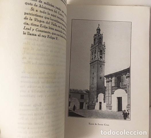Libros antiguos: Écija, 1934. Monumentos Históricos y Artísticos de la Ciudad de Écija. Guía. (Autógrafo del autor - Foto 2 - 107790371