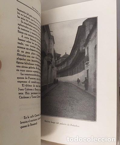 Libros antiguos: Écija, 1934. Monumentos Históricos y Artísticos de la Ciudad de Écija. Guía. (Autógrafo del autor - Foto 3 - 107790371