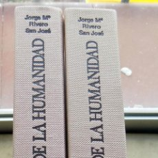 Libros antiguos: CANTABRIA LA CUNA DE LA HUMANIDAD. COMPLETO, TOMOS I Y II. EDICIONES DE CAMARA. JOSE MARIA RIVERO. Lote 108709963
