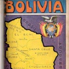 Libros antiguos: GUSTAVO ADOLFO OTERO : BOLIVIA, GUÍA SINÓPTICA (MAUCCI, 1929). Lote 151071417