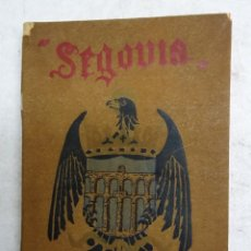 Libros antiguos: SEGOVIA. POR EUGENIO COLORADO LACA. ANTONIO SAN MARTIN, IMPRESOR Y LIBRERO. SEGOVIA 1908.. Lote 108790779