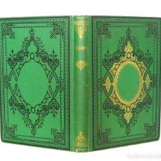Libros antiguos: 1876 - VIAJES - ROMA: IGLESIAS, MONUMENTOS, INSTITUCIONES - VIAJES EN ITALIA - ENCUADERNACIÓN - TELA. Lote 113878134