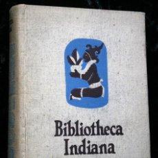 Libros antiguos: VIAJES Y VIAJEROS - AMERICA EN LOS GRANDES VIAJES - BIBLIOTHECA INDIANA -. Lote 109534435
