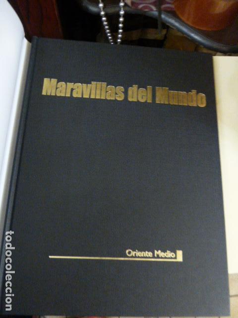 Libros antiguos: MARAVILLAS DEL MUNDO ORIENTE MEDIO, CULTURAL SA - Foto 2 - 109543007