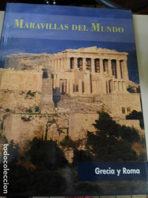 MARAVILLAS DEL MUNDO GRECIA Y ROMA (Libros Antiguos, Raros y Curiosos - Geografía y Viajes)
