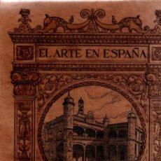 Livros antigos: EL ARTE EN ESPAÑA. Nº 13. CIUDAD RODRIGO. HIJOS DE J. THOMAS S.A. 1913.. Lote 188435337