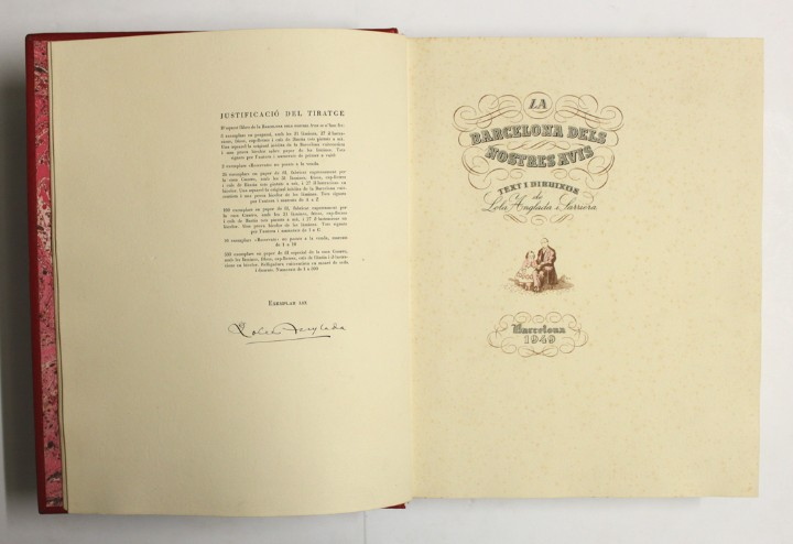 Libros antiguos: LA BARCELONA DELS NOSTRES AVIS. - ANGLADA, Lola. - Foto 2 - 109022739