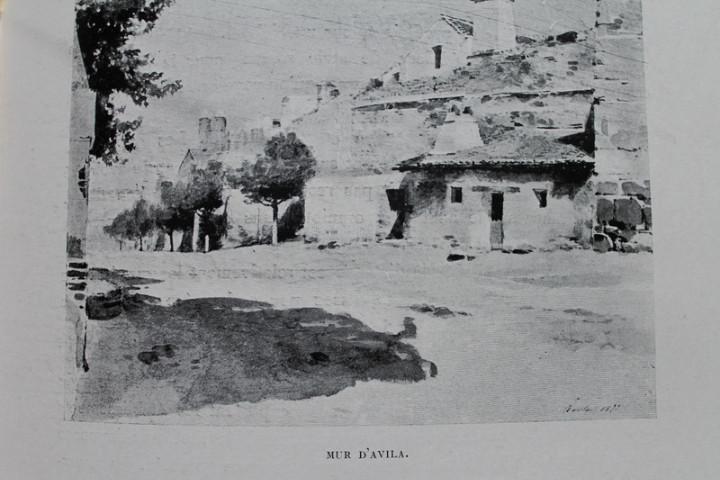 Libros antiguos: Souvenirs dEspagne. Impressions de voyages et croquis. Worms (J.) - Foto 4 - 17622304